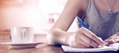 CV herschrijven met pen en papier