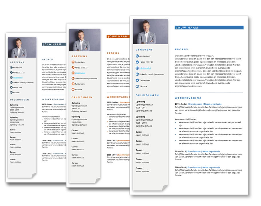 cv template business