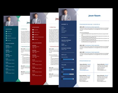 presentatie cv template enterprise