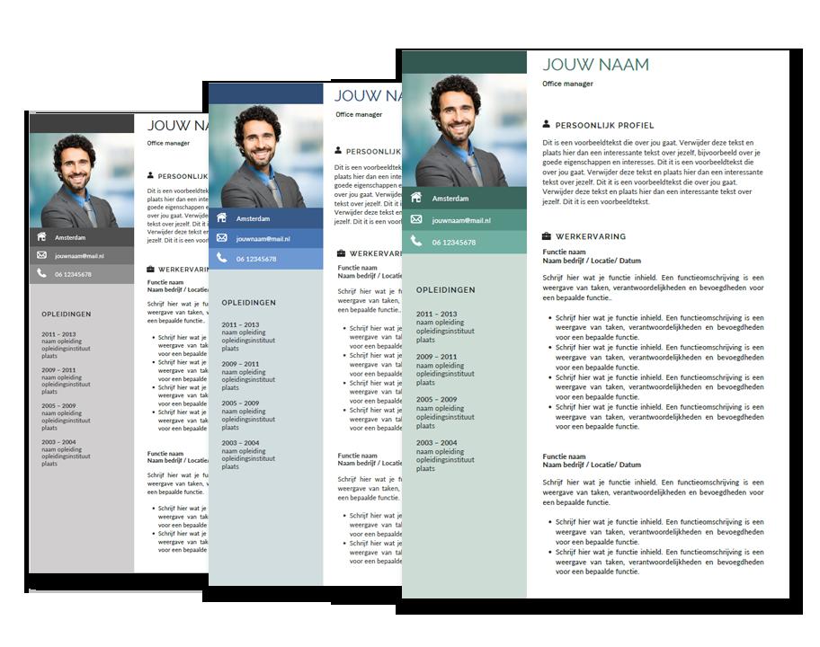 presentatie template managment